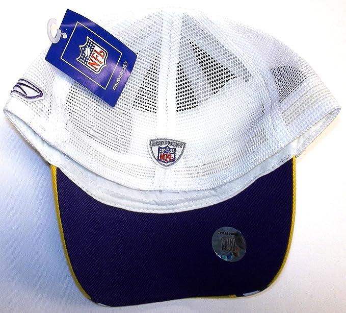 1b2da3f0 Amazon.com : Minnesota Vikings Youth Reebok Hat - 4 - 7 Yrs : Sports ...
