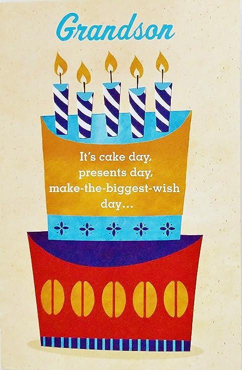 Amazon.com: Feliz cumpleaños Nieto tarjeta de felicitación ...
