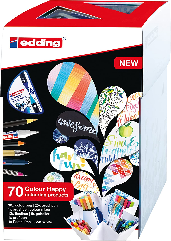+1 Colour mixer edding Colour Happy Box; Scatola 20 pz