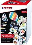 edding Colour Happy S69 Kit complet de 70 Pièces pour créatifs