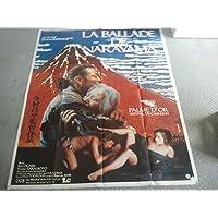 BALLADE DE NARAYAMA Affiche de film 120x160 - 1983 - Sh_hei Imamura, Ken Ogata