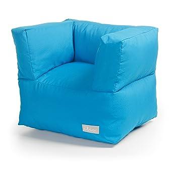 Baby Clic B20 102 10 - Sillón infantil con efecto puff, color azul