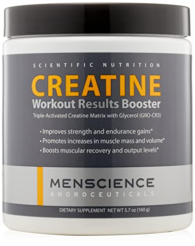 MenScience Androceuticals Creatine Workout Results Booster, 5.7 oz