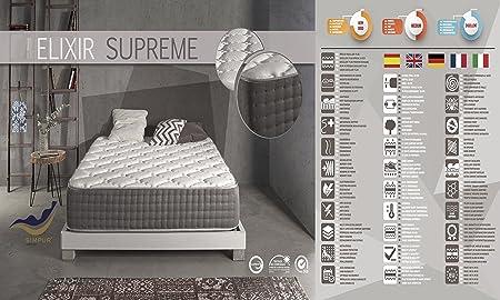 Living Sofa COLCHÓN COLCHONES VISCOELASTICO VISCOELASTICA VISCO Elixir Supreme 30CM Todas Las Medidas (120 X 190): Amazon.es: Hogar