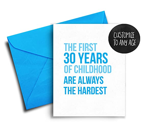 Amazon Funny Birthday Card Friend 30th Birthday Card Best