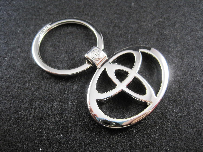 Porte-clés en métal avec logo Toyota