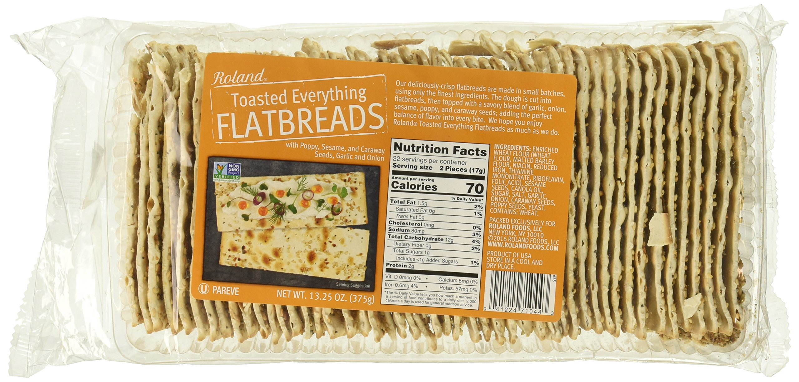 Roland Foods Flatbreads, 13.25 Ounce