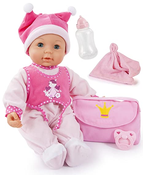 Bayer Design 94279 - First Kisses Baby Puppe, 42 cm
