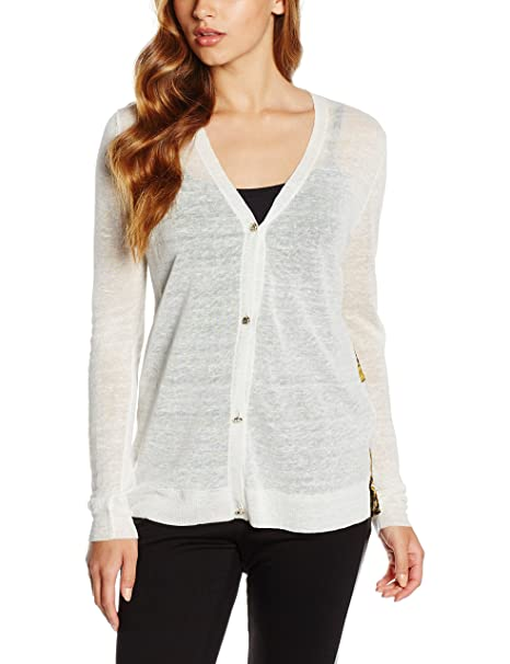 Versace Jeans EB4HNB829_E55042, Camisa para Mujer, Blanco (BIANCO-E003), XXS