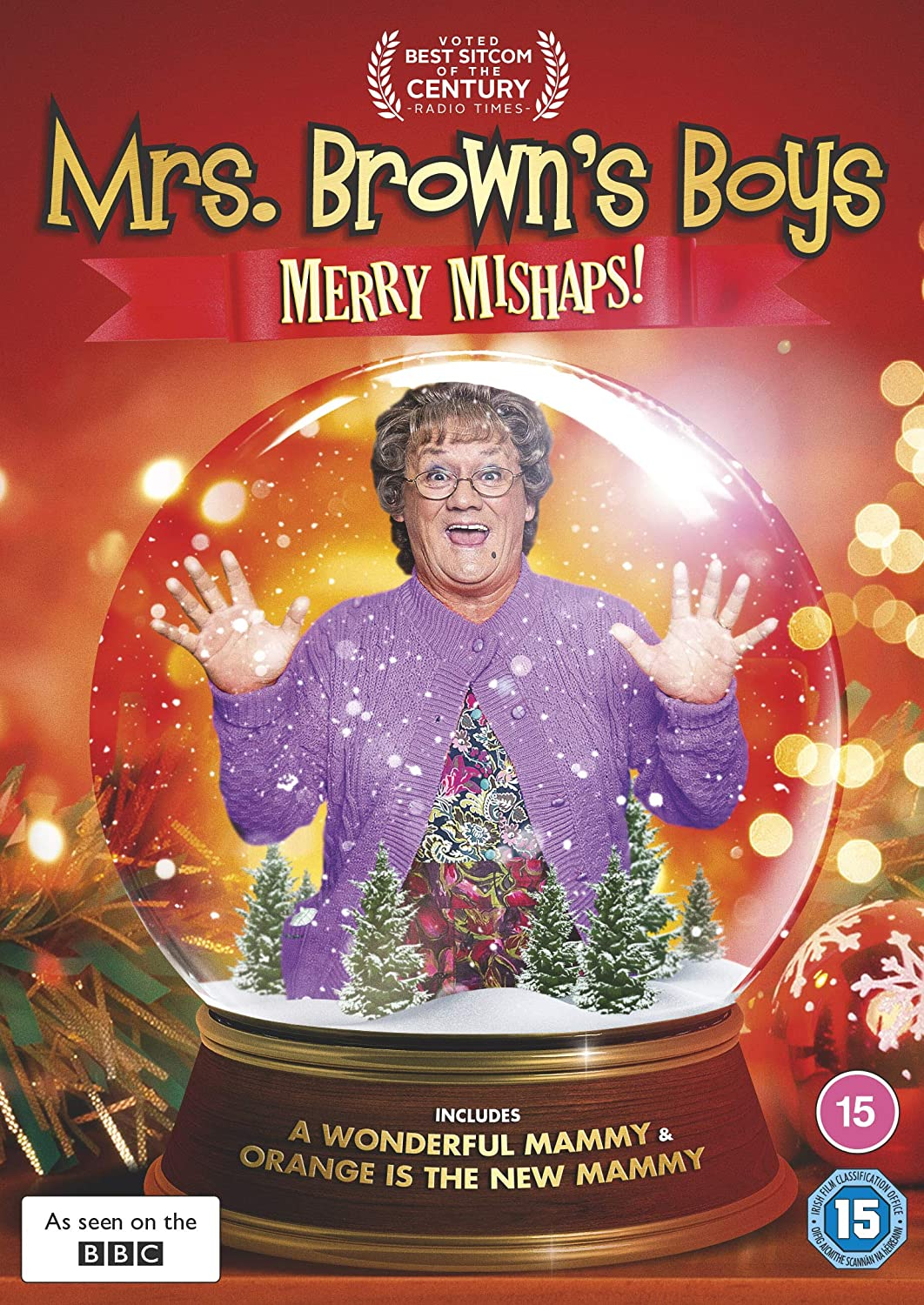 Mrs Browns Boys 2020 Christmas Special Mrs Brown's Boys: Merry Mishaps [DVD] [2020]: Amazon.co.uk: DVD