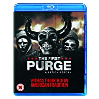 The First Purge [Blu-ray] [2018] [Region Free]