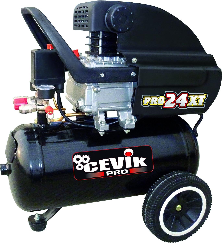 Cevik CA-PRO24XT - Monoblock Portátiles 230V- 2,5HP- 24 Lt.- 8 BAR ...
