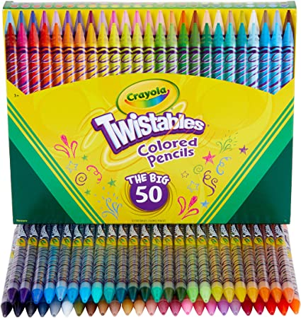 Stackable Colour Pencils Perfect for Party Bags Pack Size 1 to 100 Non Toxic