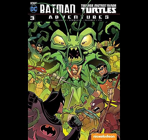 Amazon.com: Batman/Teenage Mutant Ninja Turtles Adventures ...