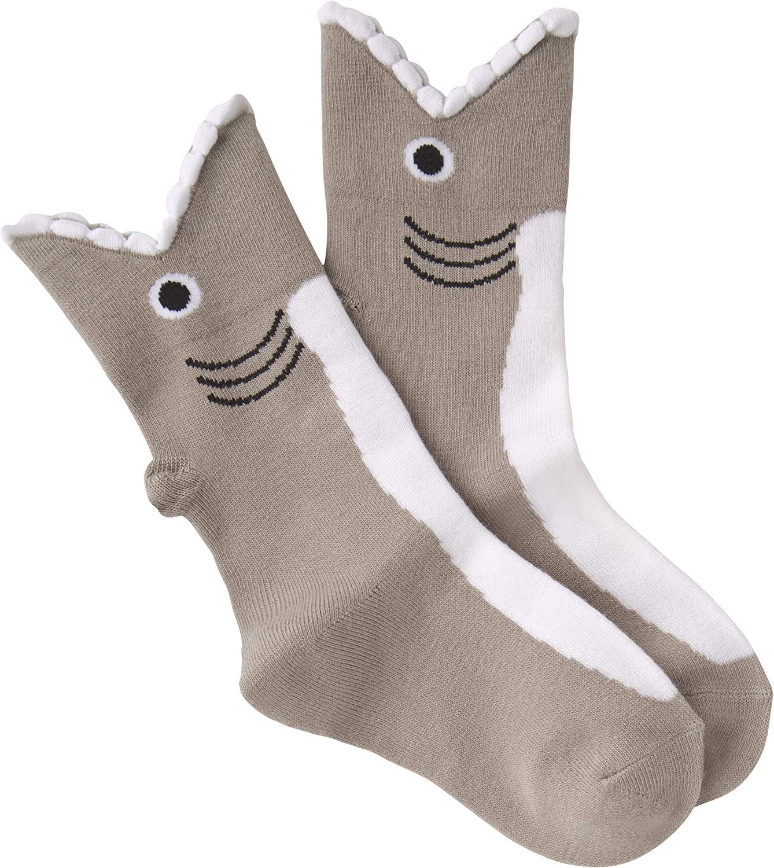 K. Bell Socks Kids' Big Novelty Wide Mouth Crew