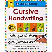 Wipe Clean Workbook: Cursive Handwriting: Ages 5-7; wipe-clean with pen