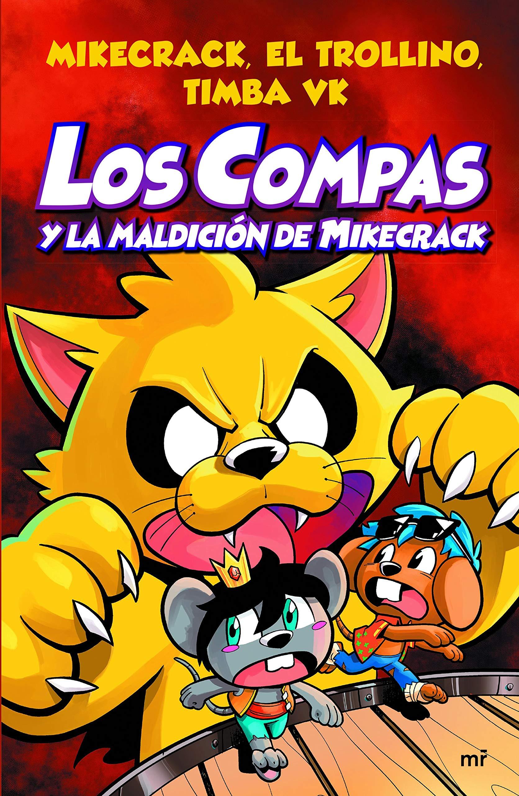 Los Compas y la maldición de Mikecrack (4You2): Amazon.es: Mikecrack El  Trollino y Timba Vk: Libros