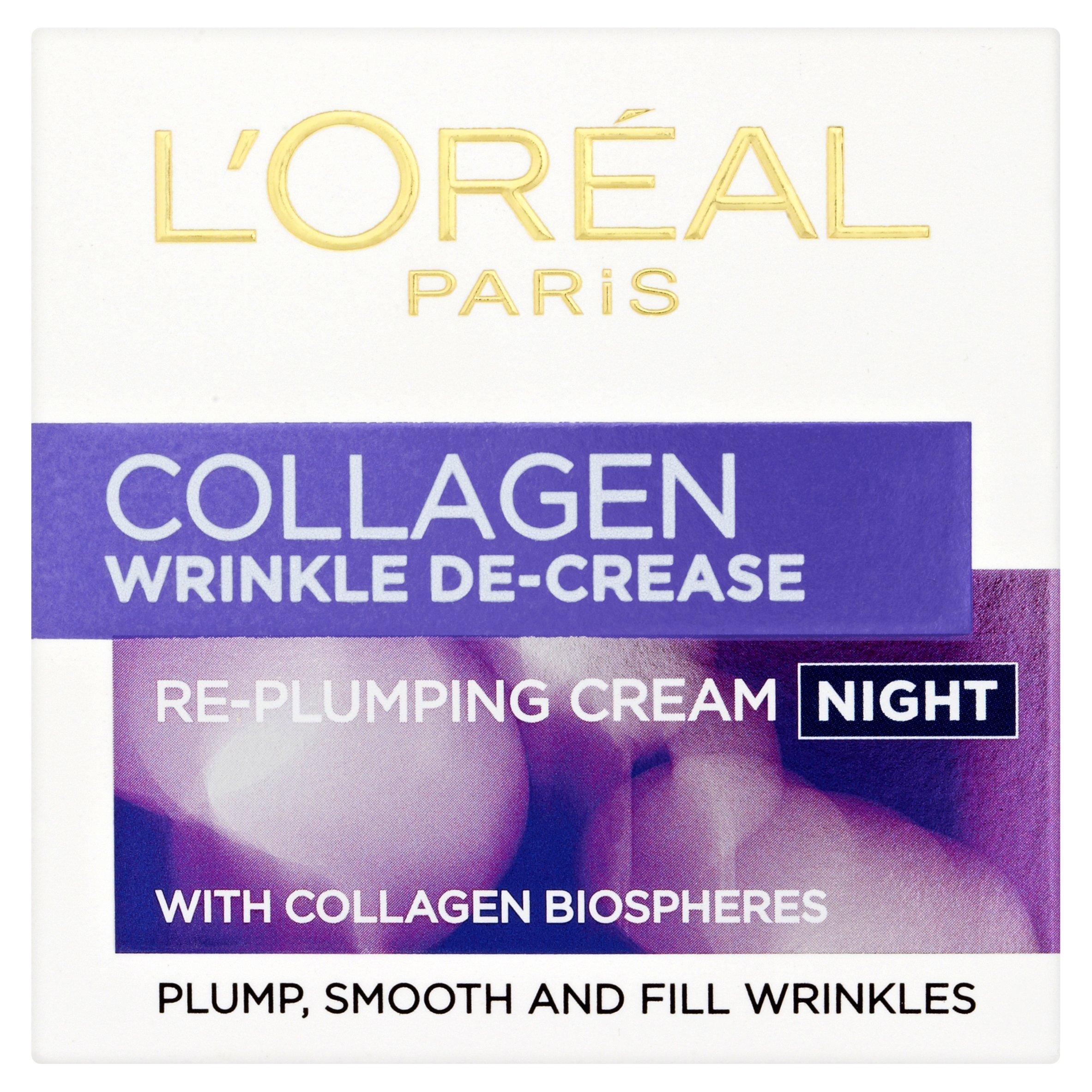 L'Oreal Wrinkle Decrease Night Cream, 50ml
