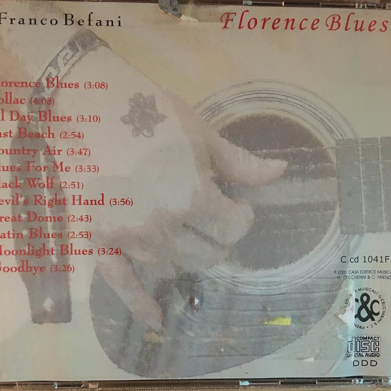 Franco Befani Florence Blues Amazoncom Music