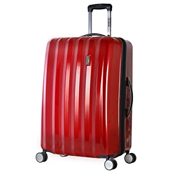 "00d26d848 Olympia Titan 29"" Expandable Large-Size Hardcase Spinner, Red, ..."