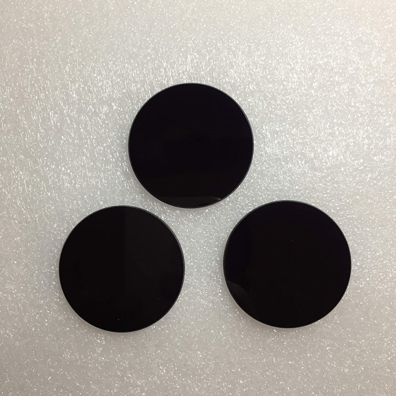 254nm UV Pass Filter ZWB3 /Ø25X1.5MM Visible Light Absorbing Black Glass Ultraviolet Transmitting UG5 U-360 3PCS