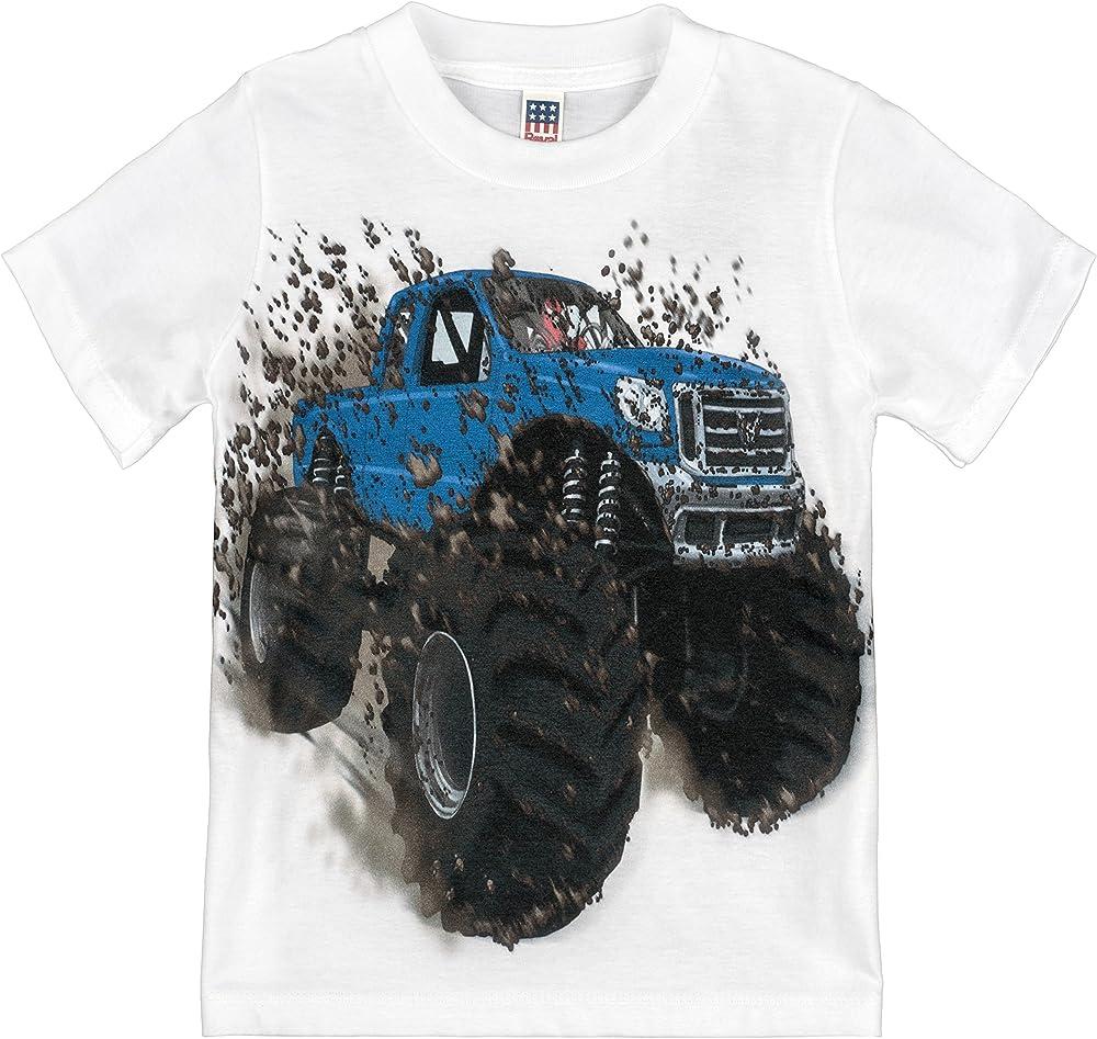 That Go Little Big Blue Monster Truck 8499 Shirts