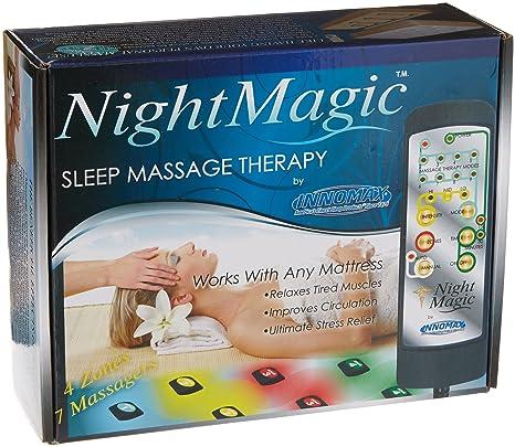 Noche mágica sueño colchón terapia para King, Queen, completo y doble tamaño colchones