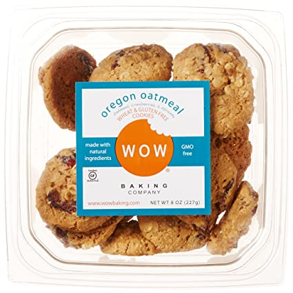 WOW Baking Cookie, GF Oregon Oatmeal, 8 oz: Amazon.com ...