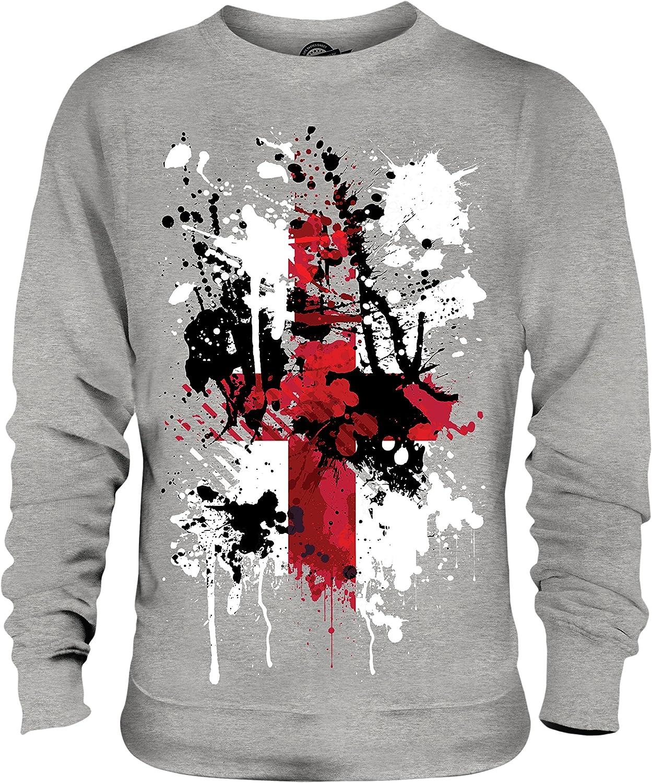 Candymix Drapeau Angleterre Art Abstrait Unisexe Sweat-Shirt Homme Femme