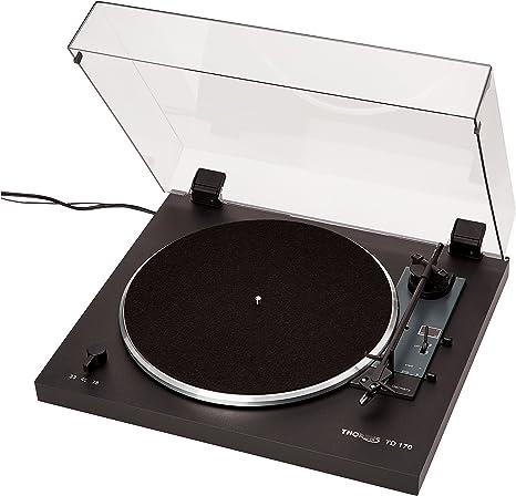 Thorens TD 170 – 1 – Tocadiscos, Color Negro: Amazon.es: Electrónica