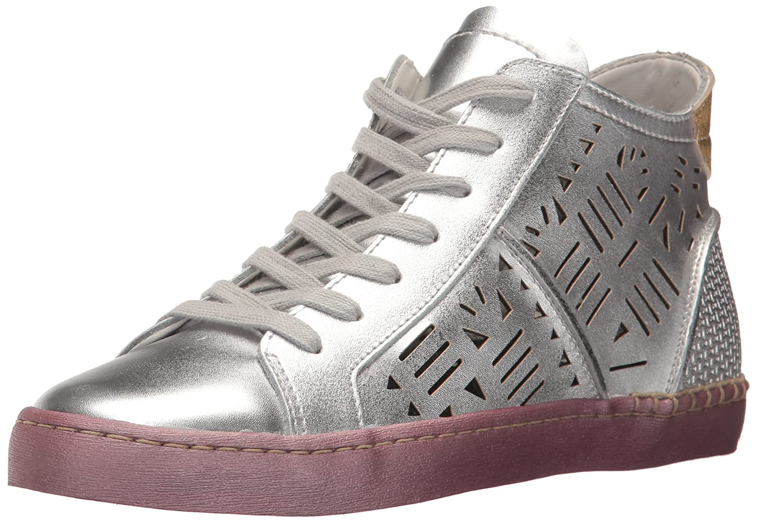 Dolce Vita Women's Zeus Strappy Sandal B072JVQC9F 6.5 B(M) US|Silver Leather