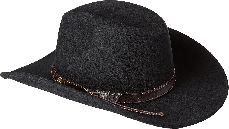 Twister Dakota Crushable Felt Hat 7211002