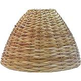 "RDC 10"" Round Cane Hanging Half-spherical Lamp Shade"