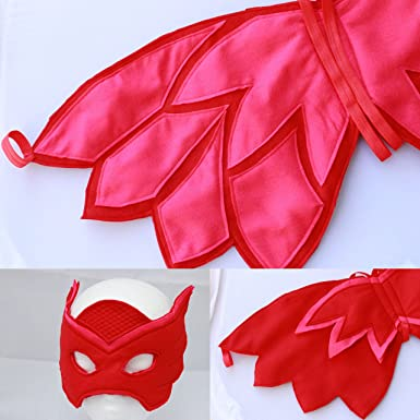 Owlette alas y disfraz de máscara – Owlette – Owlette PJ máscara