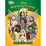 Our Heavenly Friends, Friends of Brother Francis, Catholic Saints, Coloring and Activity Book, Catholic Saints for Kids, The