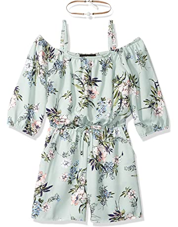 a9857dd65d Amy Byer Girls  Big Shoulder Romper