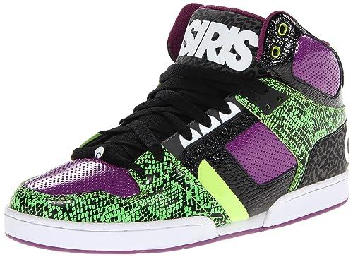 Osiris Nyc83 - Zapatillas de skateboarding, color Green/Black/Purple, talla 42: Amazon.es: Zapatos y complementos