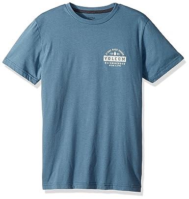 069262bf9738 Volcom Boys' Big Barred Short Sleeve Tee: Amazon.in: Clothing & Accessories