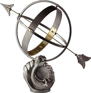 Good Directions Mermaid Armillary Sundial