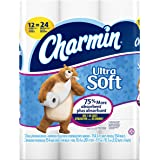 Charmin Ultra Soft Toilet Paper, Bath Tissue, Double Roll, 12 Count