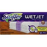 Swiffer Wetjet Hardwood Floor Spray Mop Pad Refill, 12 Count