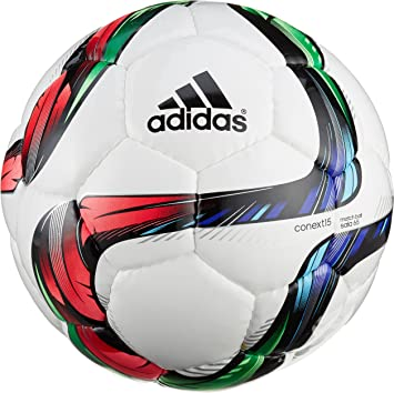 adidas Conext15SALA65 - Balón de fútbol, Color Blanco/Negro/Verde ...