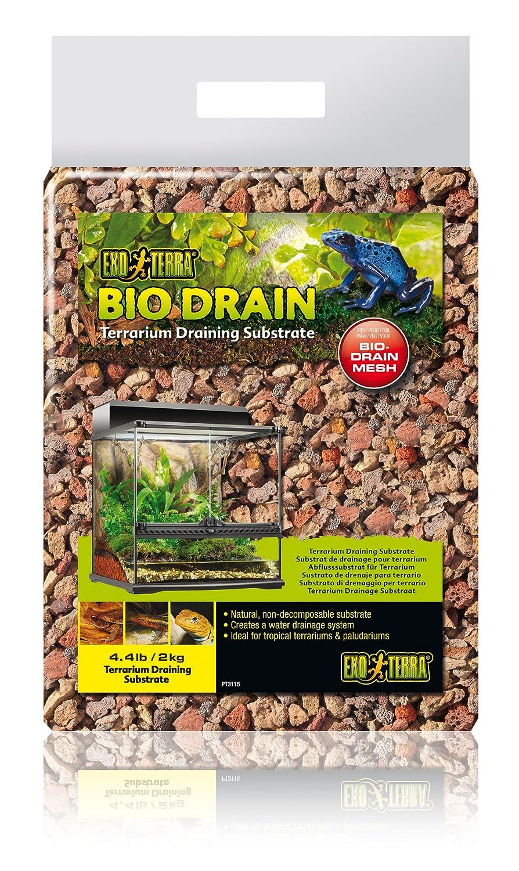 Exo terra Bio Drain, substrat de drainage pour les terrariums PT3115