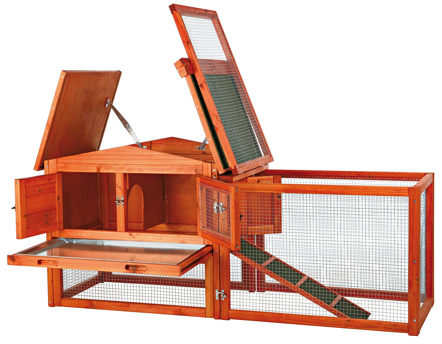 Extra Small Trixie Rabbit Hutch with Outdoor Run