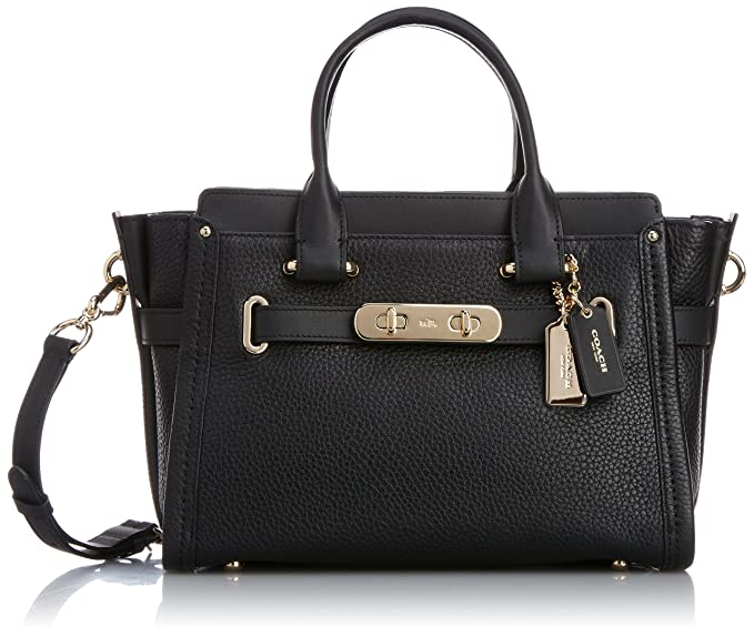 c5e1881dc COACH Swagger 27 in Pebble Leather: Amazon.co.uk: Clothing