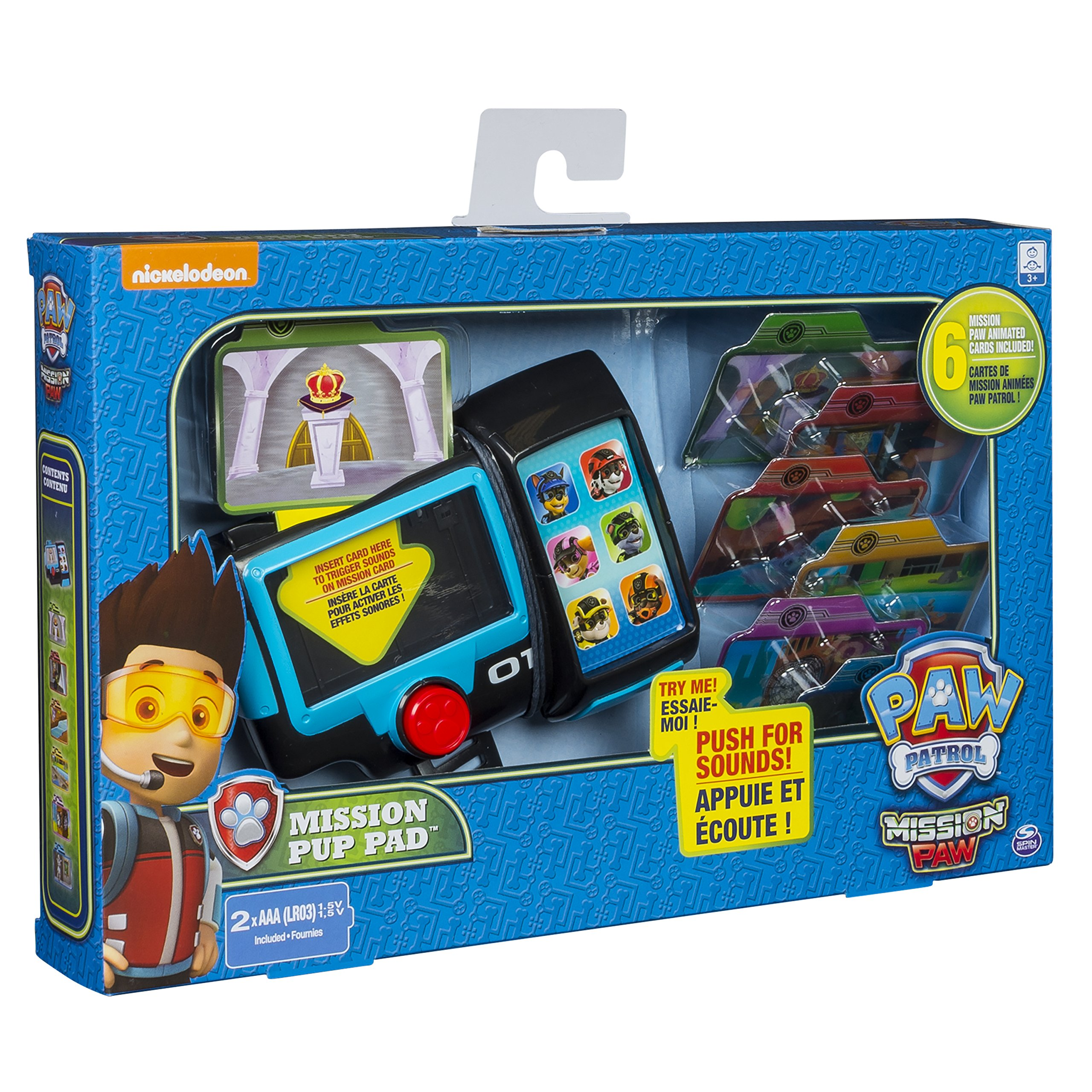 Paw Patrol 6037710 Mission Pup Pad Game, Multi Colour