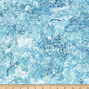 Northcott Stonehenge Gradations Basics Blender Glacier Blue Fabric by The Yard