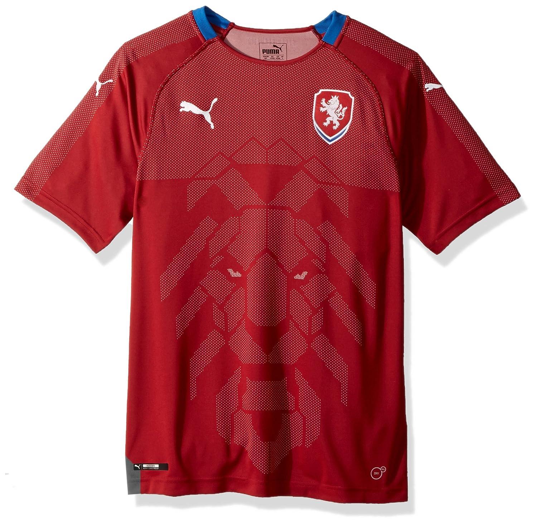 PUMA Herren Czech Republic Replica Shirt Sport-T-Shirt