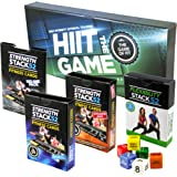 Exercise Cards Ultimate Pack: Strength Stack 52 Bodyweight Workout Cards. Designed By Military Fitness Expert. Fitness Cards Include Video Instructions. No Equipment Needed. Fun, Motivating at Home Workout Programs