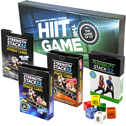 Amazon com : Exercise Cards Ultimate Pack: Strength Stack 52